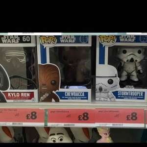 Funko POP! Vinyl figures 20% off at Sainsburys Wolverhampton