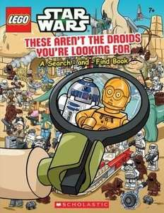 Lego Starwars Book - These Aren't The Droids You're Looking For £2.49 @ The book Depository