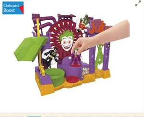 Imaginext Batman The Joker Laff Factory at Tesco c&c £24.00