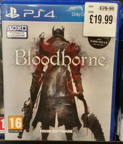 Bloodborne PS4 £19.99 Instore @ HMV