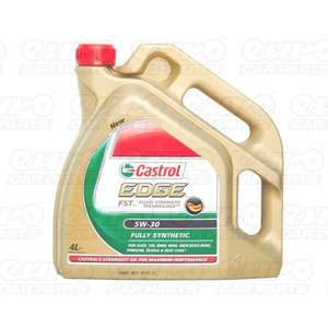 Castrol Edge SAE 5W30 Fully Synthetic Engine Oil 4L VW GM & Longlife £24.99 @ Ebay/EuroCarParts