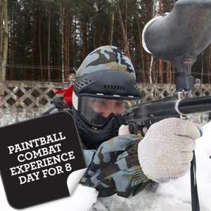 Paintball entry for 8 people at Gettingpersonal.co.uk