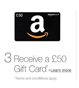 £50 Amazon credit when you use their Wedding List service (spend of £250 on items)