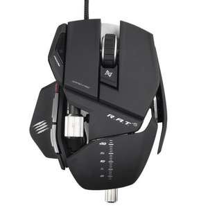 Madcatz RAT 5 Gaming Mouse (PC/Mac DVD) - £34.99 - Amazon [Lightning Deal]