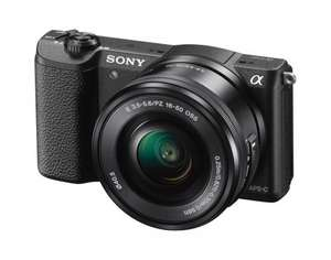 Sony ILCE5100L (a5100L) Compact System Camera - Black - £274.00 @ Amazon