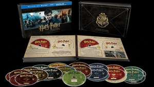 Harry Potter Hogwarts Collection 31 Bluray and DVD boxset £44.99 @ Amazon (Lightning Deal)