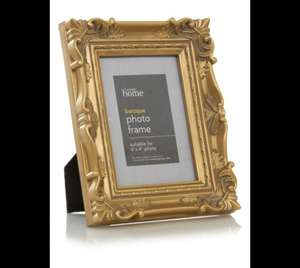 George Home Baroque Photo Frame 6 X 4 Inch £1.50 @ ASDA DIRECT