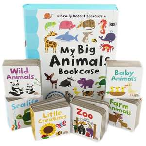 My Big Animals Bookcase £4.25 (with code ) + 21% Possible cashback ! Free C&C @ The Works
