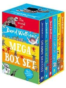 DAVID WALLIAMS (6 BOOK COLLECTION) £24 FROM A GREAT READ £21 WITH CODE (BELOW)
