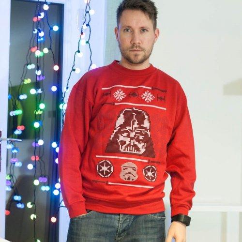 Star Wars Darth Vader Christmas Jumper - Menkind: £14.99