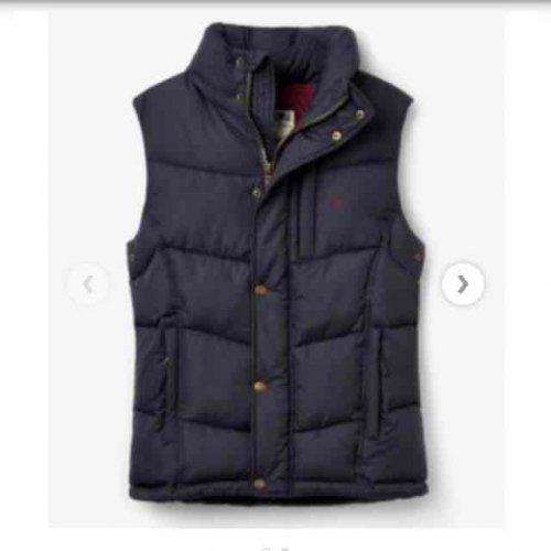 Joules Rutland gilet £54.86 delivered  at M A Grigg online