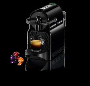 Nespresso Inissia/Citiz or both for £1 with 400-1000 capsule purchase