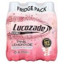 Lucozade - Pink Lemonade 380ml 6 pack £1! @ Poundland