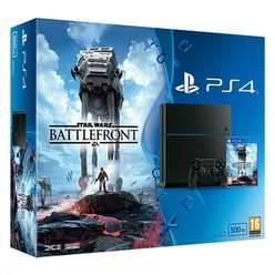 PS4 500GB With Star Wars Battlefront, Uncharted Collection, LBP3, Fallout 4, Anniversary DualShock & 2 Month NOW TV Movies Pass £334.99 @ Game