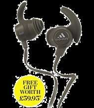 free Adidas response headphones (worth £59.95) with runners world 6 months for £16 offer @ Hearst Magazines