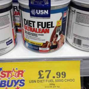 USN Diet Fuel Ultra Lean 500gm at Home Bargains £7.99 Stechford Branch