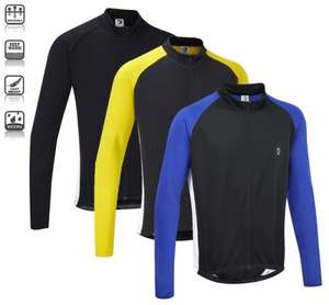 Tenn-Outdoors Unisex Winter Weight Long Sleeve Cycling Race Jersey only £11.99 @ Ebay/tenn-outdoors