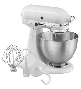 KitchenAid White Classic Multi Function Mixer  £249.99 @ tkmaxx