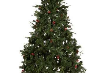 7ft 6In Vail Pre-Decorated Christmas Tree - £15 @ B&Q