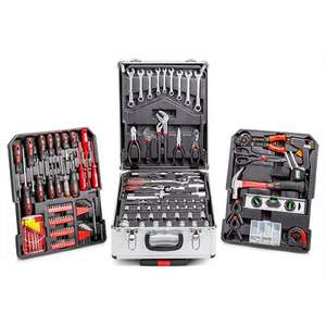 Top Tech 186pc Tool Set With Silver Aluminium Storage Case £71.99 @ eurocarparts