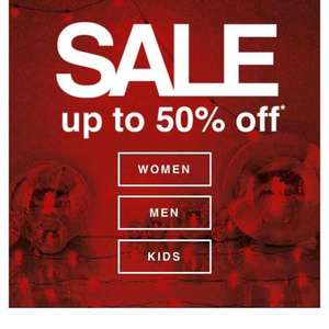 F&F Tesco clothing half price sale half price pyjamas and Christmas jumpers from £6