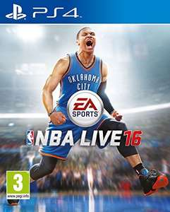 NBA Live 16 ps4 £18.00 prime @ Amazon / Lightening deal