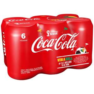 WH Smith Lunch Deal £3.69 -Sandwich + Crisps/Snack, Plus Drink BUT Coke-Cola 330ml x6 Pack also included