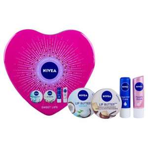 Nivea Luscious Lips gift set - £3 off - £3.50 - Sainsburys