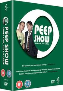 Peep Show Series 1-3 Box Set (DVD) (used) £1.07 delivered @ Music Magpie (with code)