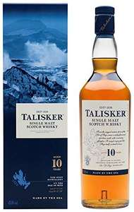 Talisker 10 Year Old Single Malt Whisky £24.99 @ Amazon