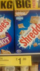 Nestle Original Shreddies 1KG @ Farm Foods for £1.99