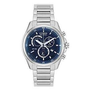 Citizen Eco-Drive Men's Stainless Steel Bracelet Watch £99.99 from H Samuel less than half price.