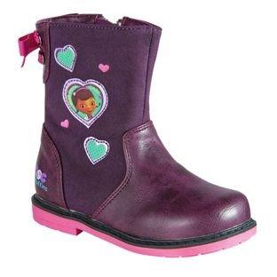 Doc mcstuffins girls boots argos £5.19