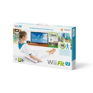 Wii Fit U + Balance Board (White) + Fit Meter £39.99 @ nintendo (£72 quid on Amazon UK)