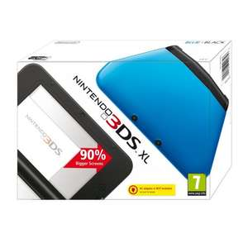 Nintendo 3DS XL (Blue) @ Amazon Lightning Deal - £85 - back on!