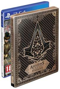 Assassin's Creed Syndicate Amazon Exclusive Steelbook Bundle PS4 & Xbox One £22.99 Delivered @ Amazon