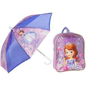 Disney Sofia the First Backpack and Umbrella Set -  Down to £4.49 @ Argos
