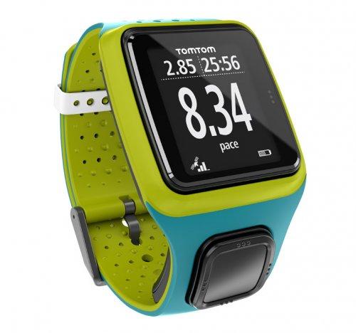 TomTom Runner GPS Watch Turquoise/Bright Green £72.93 @ fitness Digital