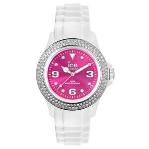 Ice-Watch Ladies' Ice-Star Swarovski Watch White/Pink £39.99 @ Argos Ebay