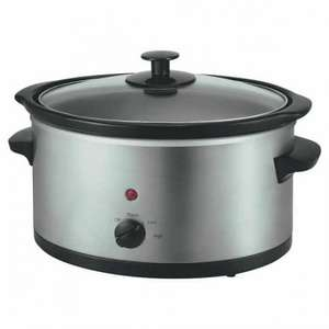 Tesco 3ltr slow cooker £10 use club card boost and get it for a fiver