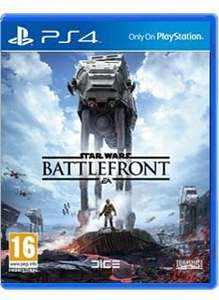 Starwars Battlefront-PS4-New-Simply Games £34.99 delivered @ simply games