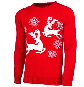 Christmas jumpers at Leekes