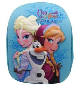 Disney Frozen 3D Backpack £4 at TESCO DIRECT FREE C&C