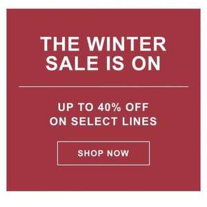 Timberland Winter Sale 40% off selected lines! Plus free standard delivery and returns.