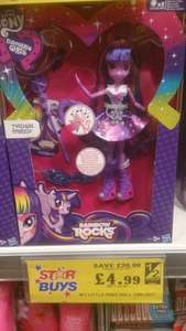Hasbro My Little Pony Doll Twilight £4.99 @ Home Bargains