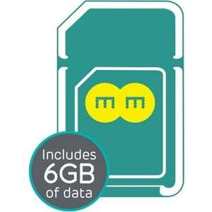 4GEE 6GB Pre-Loaded Trio Data SIM £14.99 @ Argos