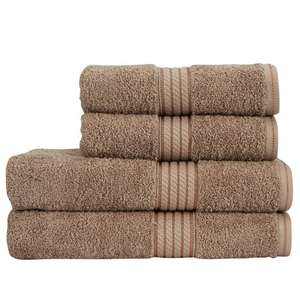 70% off Christy Towels 620gsm Alexandria Sable, @ Just Linen, Egyptian Cotton. various sizes, for example Bath sheet is £12.60