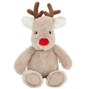 Reindeer Soft Toy £8 (inc. Click & Collect) @ John Lewis