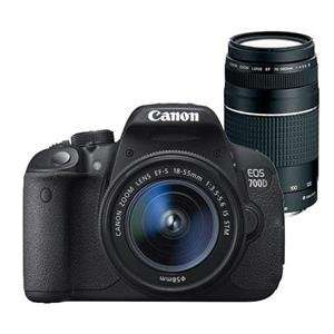 Canon EOS 700D Digital SLR + 18-55mm IS STM Lens + 75-300mm DC III Lens Now £499 (£449 after Cashback) @ Jessops