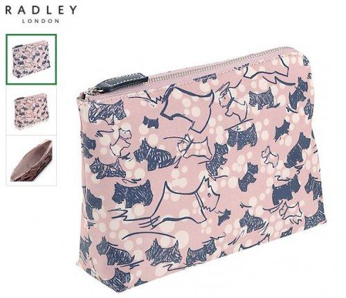 Radley makeup/medium pouch bag half price £14.50 at John Lewis